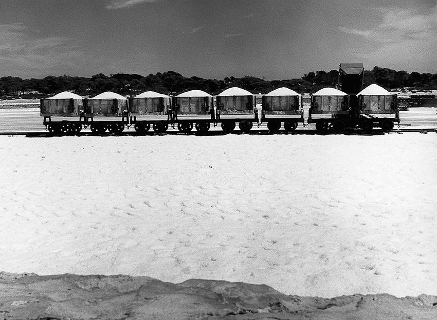 Impressionen Formentera 1960-80 Salzloren beladen