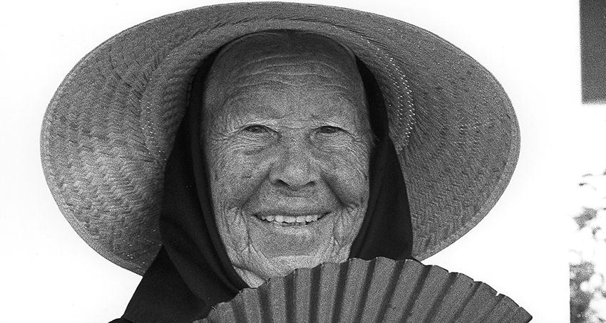 Impressionen Formentera 1960-80 Großmutter, la Abuela