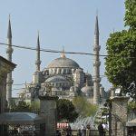 City Galerie Istanbul, Marrakech, Lissabon Blaue Moschee aussen