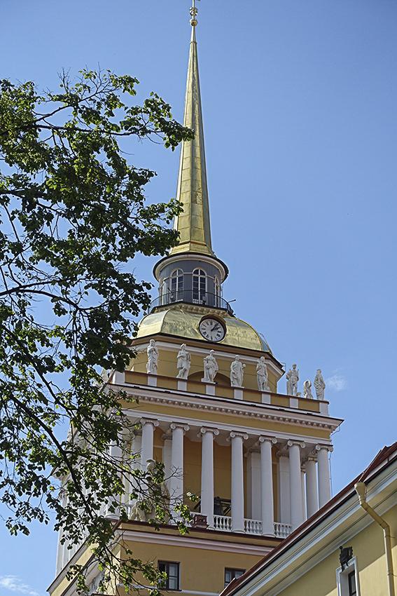 Zarenstadt Sankt Petersburg - Fabergé - Katharinenpalast Admiralität