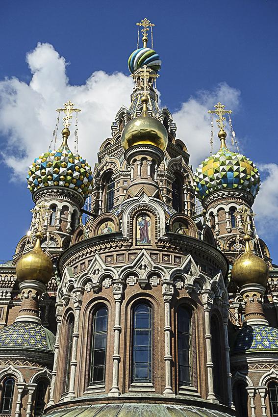 Zarenstadt Sankt Petersburg - Kathedralen ErlöserKirche, Blutskirche