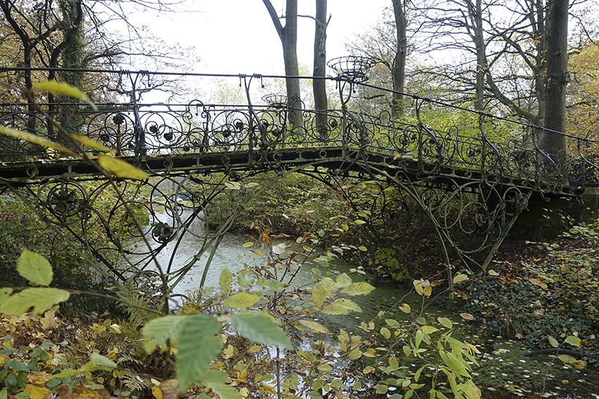 Ohlsdorfer Friedhof Filigrane Brücke