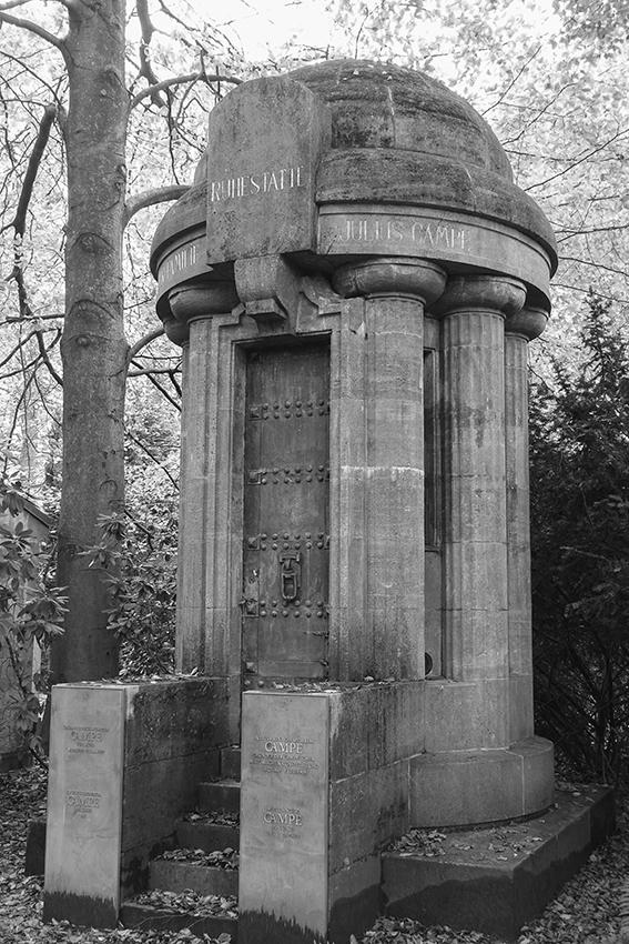 Ohlsdorfer Friedhof Mausoleum Campe