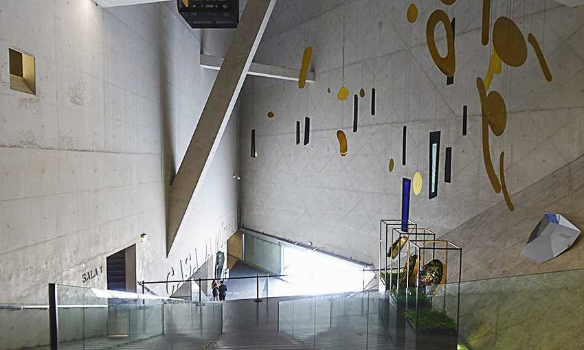 Casa da Musica Porto Eingang von oben