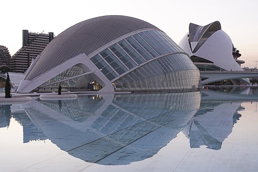 Hemisféric + Oper Valencia, Stadt der Künste und der Wissenschaften