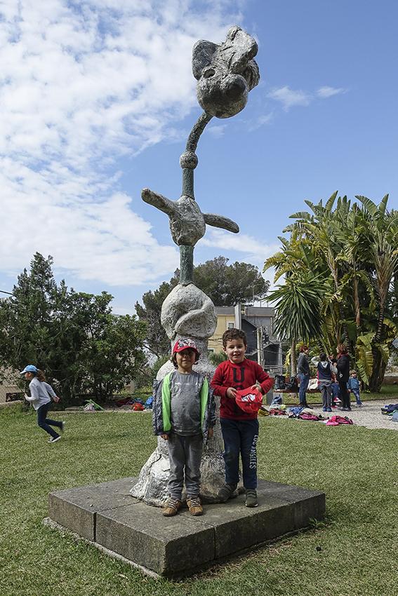 MIRÓ Fundació Pilar i Joan Miró a Mallorca Skulptur MIRÓ Fundació Pilar i Joan Miró a Mallorca