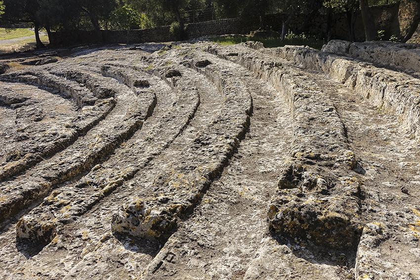 Mallorca Antik Antikes Theater von Pollentia