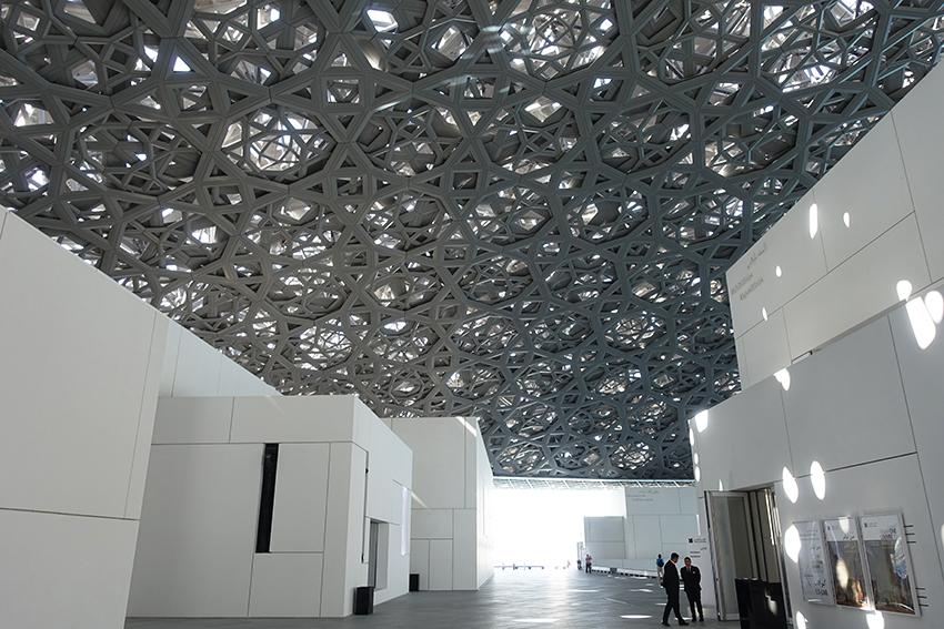Louvre Abu Dhabi Plaza Architektur