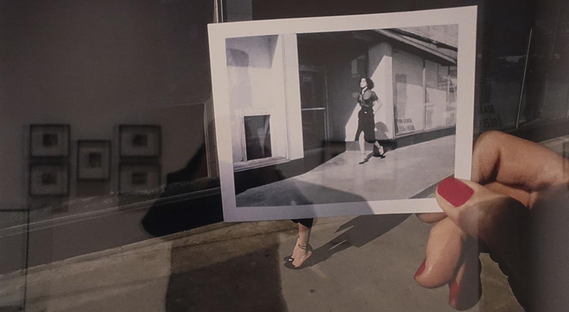 The polaroid Project Guy Bourdin, Charles Jourdan 1978
