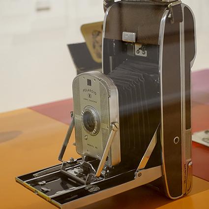 The polaroid Project Polaroid Kamera Modell 95, 1948
