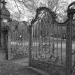 Ohlsdorfer Friedhof Eingangs-Tore Friedhof