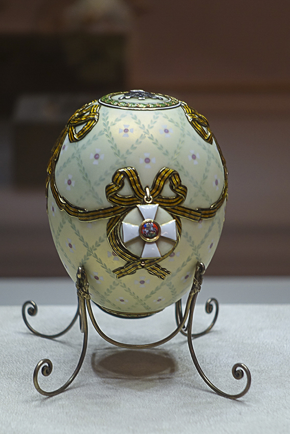Zarenstadt Sankt Petersburg - Fabergé - Katharinenpalast Fabergé EI