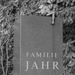 Ohlsdorfer Friedhof Grabmahl Familie Jahr