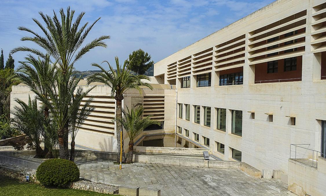 MIRÓ Fundació Pilar i Joan Miró a Mallorca Architektur aussen MIRÓ Fundació Pilar i Joan Miró a Mallorca