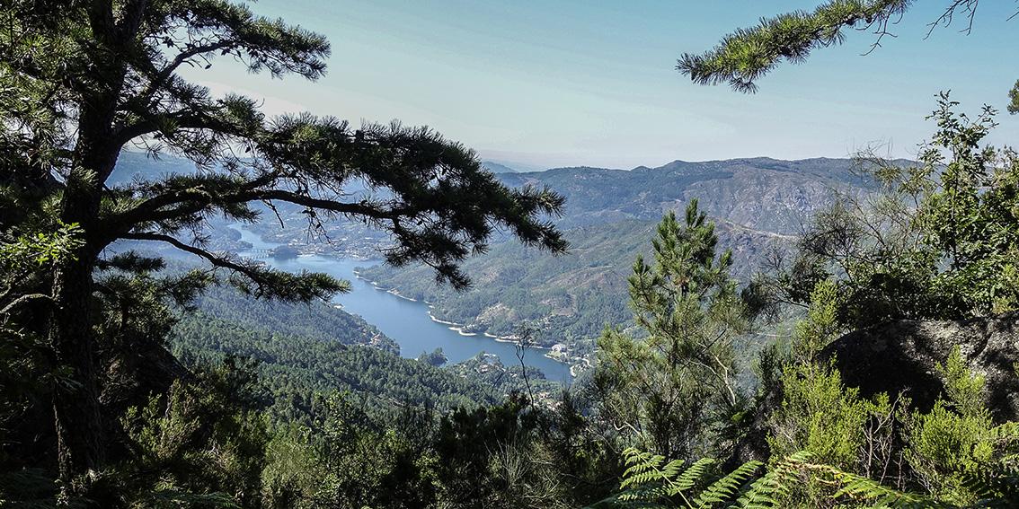 Nationalpark Peneda-Gerês Portugal Blick vom Petra Bela