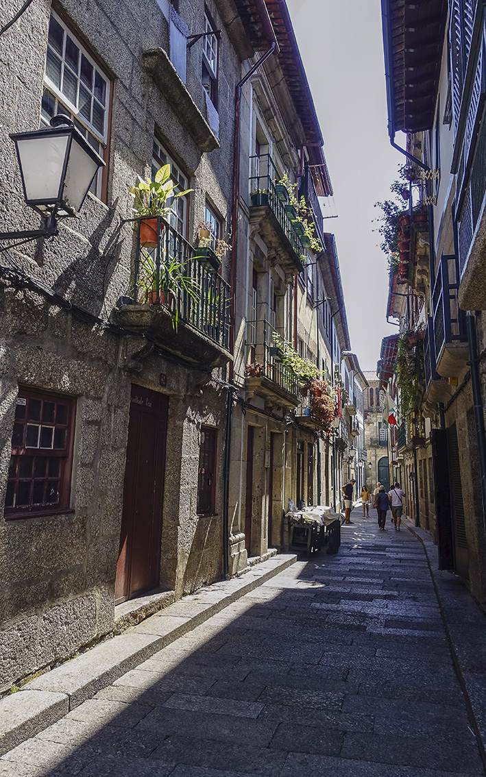 Guimarães Minho Portugal enge Gasse