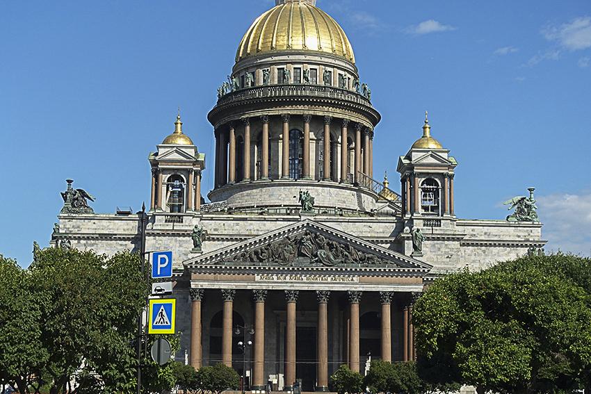 Zarenstadt Sankt Petersburg - Kathedralen Isaakkathedrale