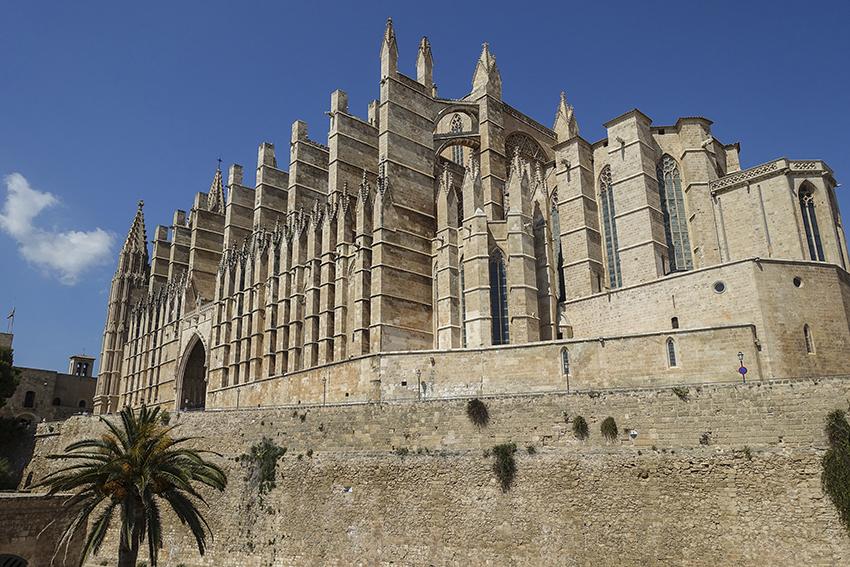 PALMA de Mallorca ein Kulturausflug Kathedrale