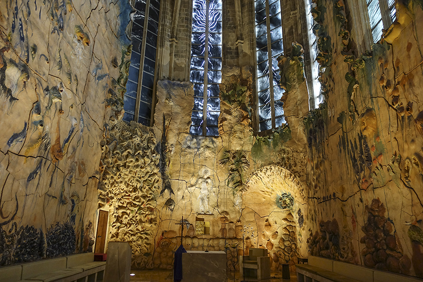 PALMA de Mallorca ein Kulturausflug Kathedrale M. Barcaló