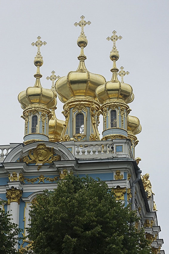 Zarenstadt Sankt Petersburg - Fabergé - Katharinenpalast Katharinenpalst