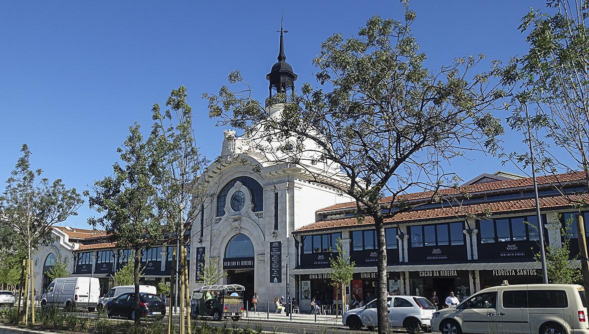 Coimbra Universitätsstadt - Lissabon Notizen Lissabon Mercado da Ribeira