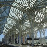 Coimbra Universitätsstadt - Lissabon Notizen Lissabon Oriente Bahnhof