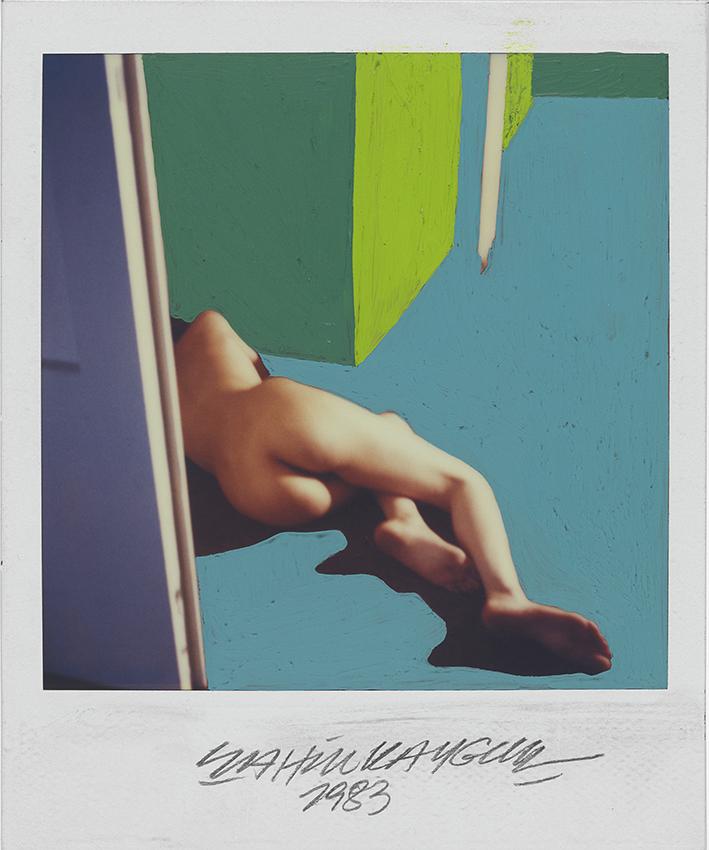 The polaroid Project MKG_Polaroid_Kaygun_Nude