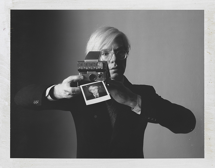 The polaroid Project MKG_Polaroid_Toscani_Warhol