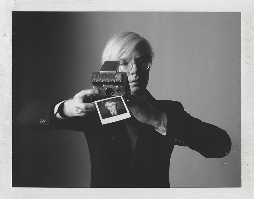 The polaroid Project MKG_Polaroid_Toscani_Warhol