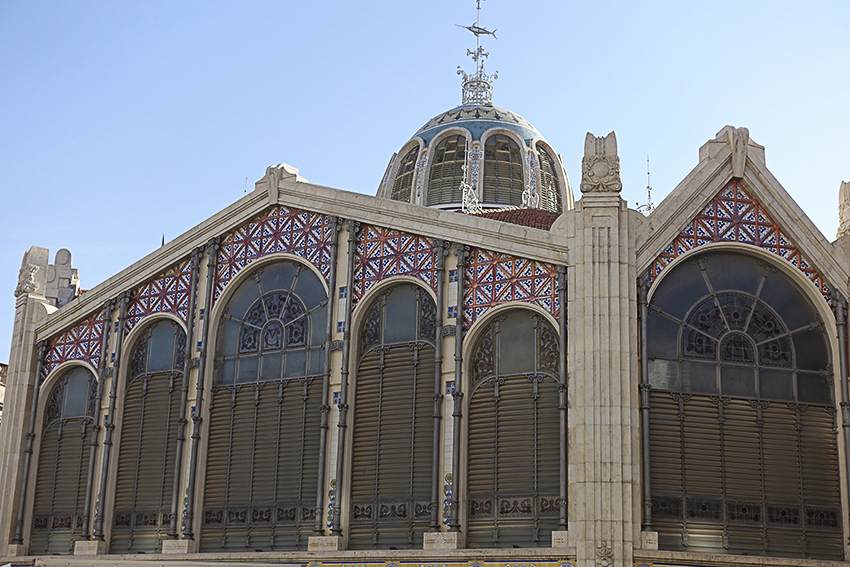 Makthalle Fassade Valencia, Highlights der historischen Altstadt