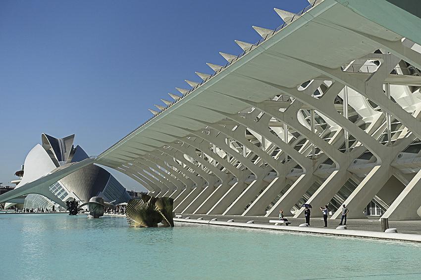 Wissenschaftsmuseum Valencia, Stadt der Künste und der Wissenschaften