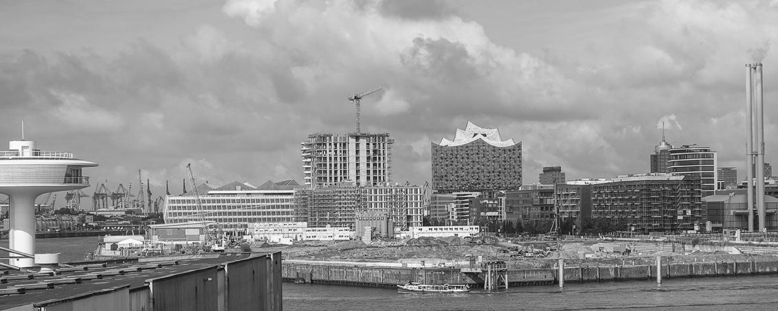 HafenCity Hamburg Architektur Panorama Hafencity