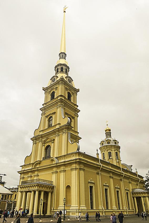 Zarenstadt Sankt Petersburg - Kathedralen Peter-und-Pau-Kathedralel