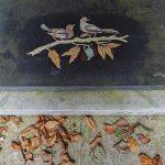 Ohlsdorfer Friedhof Vögel auf Ast Grabstätte